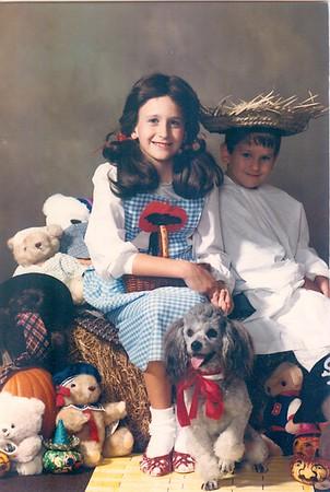 Halloween 1985, Valerie, Tommy and Frisky
