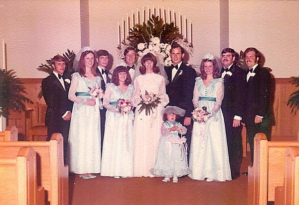 Jimmy Stroup, Turpin Barrett Mike, Bill Marcum and Benny Spivey, Cheryl, Carol, Katrina and Sandra