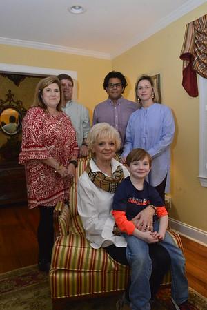 Sylvia Adam's Family