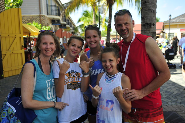 The Ritter Family in Jamaica