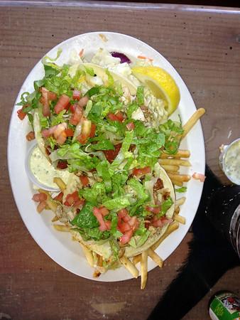 Fish Tacos at Paiai Fish Market