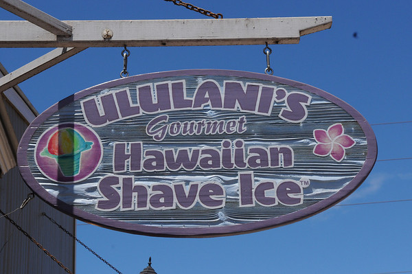 Ululani's Hawaiian Shave Ice, this stuff is really good, better than a snow cone. No comparison.