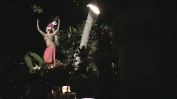 Video of Hula Girls at Feast at LeLe, Lahaina Maui Hawaii