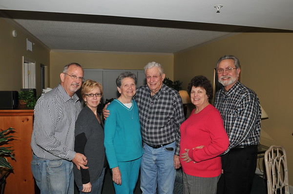 Mike, Carol, Judy, Harold, Diane and Ron