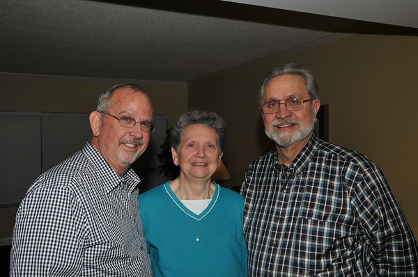Mike, Judy and Ron