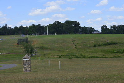 A View from the Southwest Corner of the Grounds at The Civil War Prison at Andersonville, Ga by Mike Newman