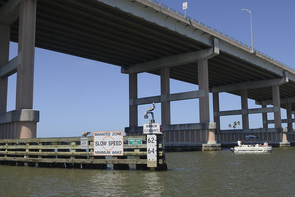 Rented a pontoon boat and fished under this bridge in Ormond Beach