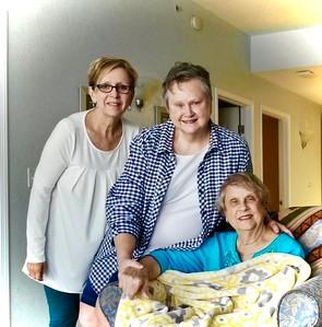 Carol, Starlette and Rachel