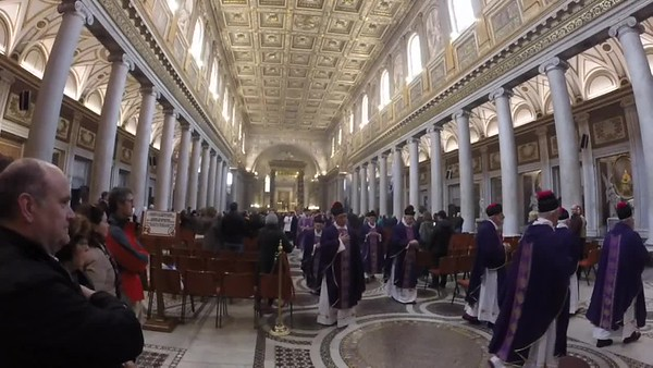 Mass at Basillica de Santa Maria Maggiore
