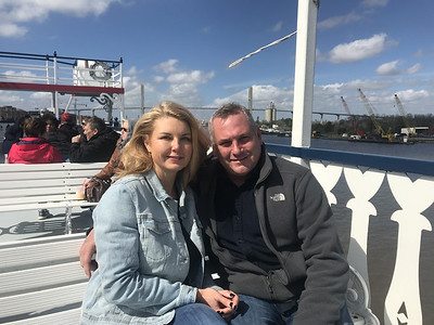 A Couple we met on the top deck from Arkansas