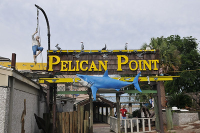 Pelican Point Restaurant just north of Darien, GA exit 64 and go straight, great food $27.95 for buffet.