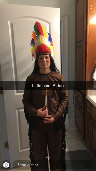 Aiden Halloween 2019