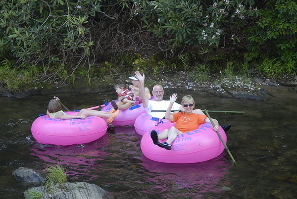 Floating down the Chattahoochee
