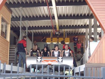 Bezoek aan Bobejaanland op 14-08-09