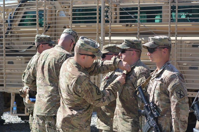 2016-05-16 Logan receives Bronze Star in Afghanistan