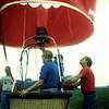 Bill Miller ride balloon over farm Sept 2, 1989