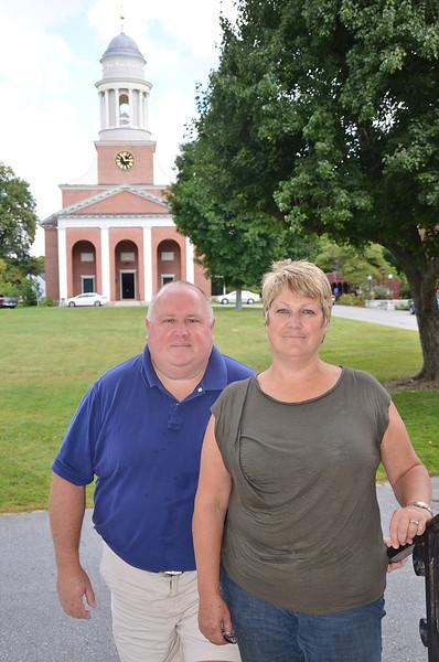 Scott and Daunne Miller, of Lancaster. SENTINEL & ENTERPRISE / Ashley Green