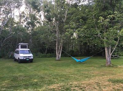 Best campsite, Caribou Provincial Park