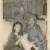 Four generations: Chuck Quarterman, Norma C Quarterman, Eric Carlson, and his mother, Clara Elinda Svensson Benjaminson Carlson - 1947