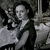 Norma at dinner for QSO in Austin, a few days before meeting Dad at the dance -- the girl across the crowded room