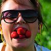 nam, nam....Godt med Jordbær..!