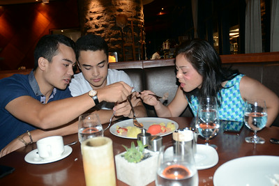 Ming's and Julie's 25th @Spencer's - Tuesday, August 5, 2014