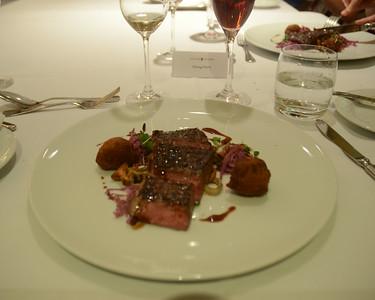 A delicious tenderloin ... best steak ever.