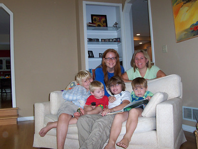 <b>Aug. '07: Summer Fun with My Nephews </b>