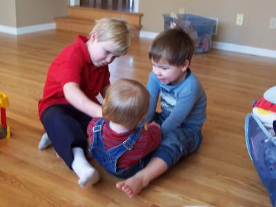 <b>Feb. '06: Visiting family in St. Paul, MN</b>