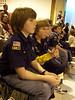 Scouts' Pinewood Derby - N & friends