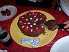 Birthday cake make by friend Bekka.