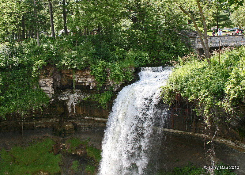 Minnehaha Falls Park on Father's Day 2010