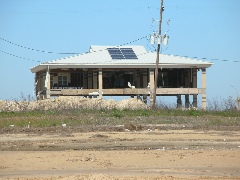 destroyed by hurricane Ike