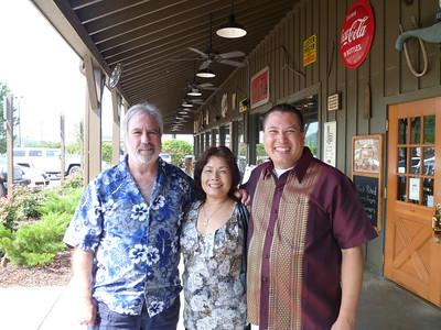 Jack, Longchai, & Michael - August 2010.