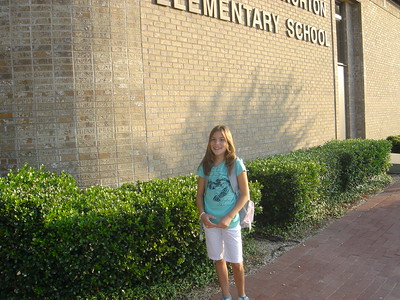 Lexi - First day of school (6th grade)