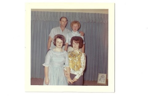 Aunt Jean, Uncle Buster, Janice and Judy