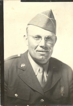Earl Newton Moore, World War II Veteran (Papa's Brother)