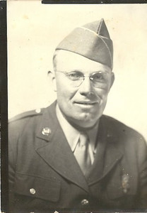 Earl Newton Moore, World War II Veteran (Papa's Brother)