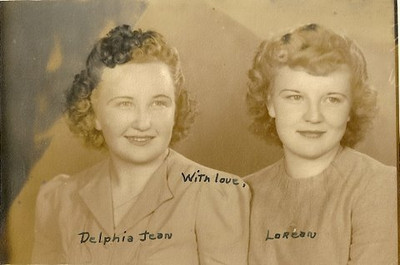 Sisters, Delphia Jean and Lorean