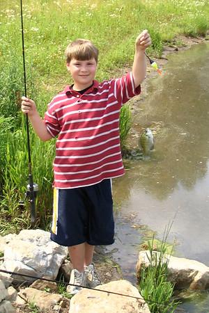 Alek and Mike fishing