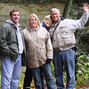 Steve, Mary Butler Dave, Heather Jeffery, Bruce, Kelly Miller Cantwell Cliffs, Hocking Hills, Ohio - October 2009