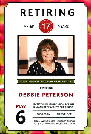 Debbie Retires