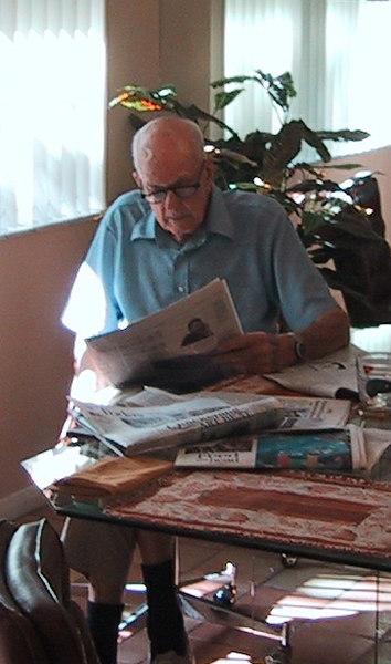 Dad in Florida, 2003