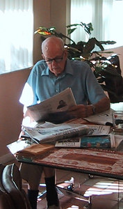 Dad in Florida, 2003