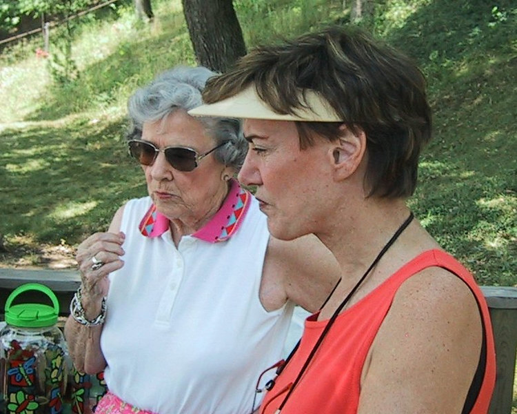 Mother and Daughter (Nancy and Karin)