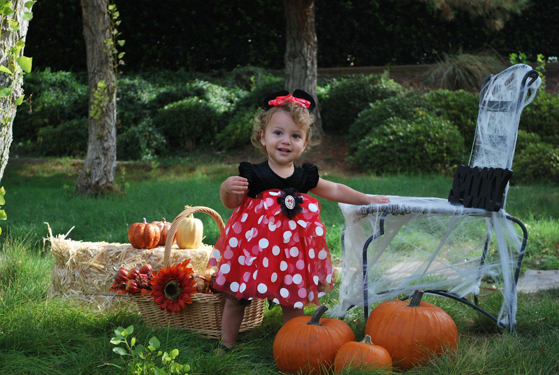 Isabella's Halloween Pictures