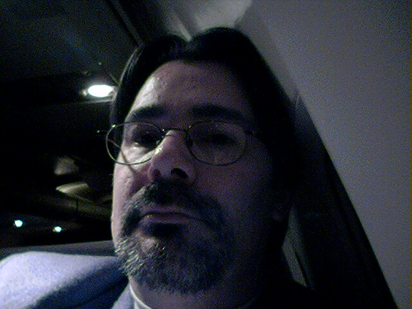 on a night flight to Indianopolis<br /> 1/27/05 9:20 pm