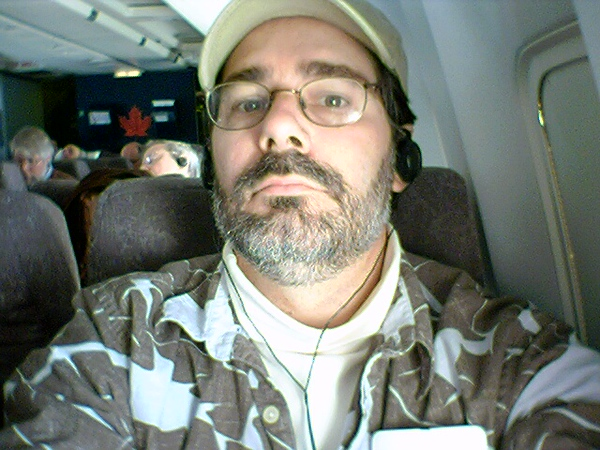 on a flight to Victoria<br /> 10/30/04 8:57 am