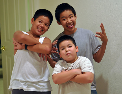 Khoa, Khoi & their uncle, Thai Binh, who's only a year older than Khoa