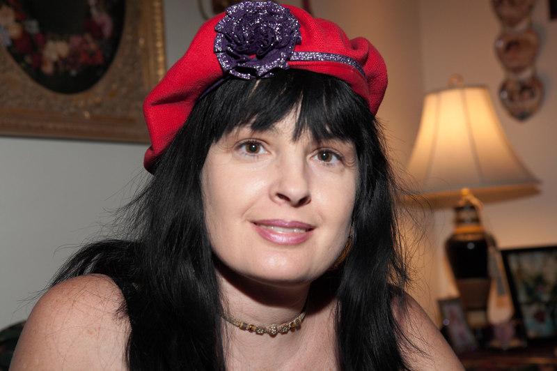 Karen Menard, future member of the Red Hat Club